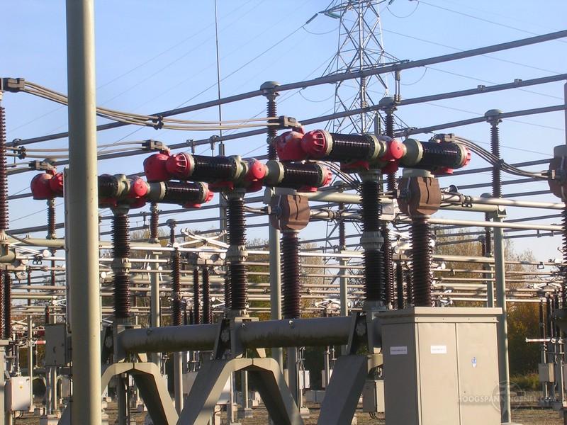 Vermogensschakelaars voor 150 kV op Dodewaard
