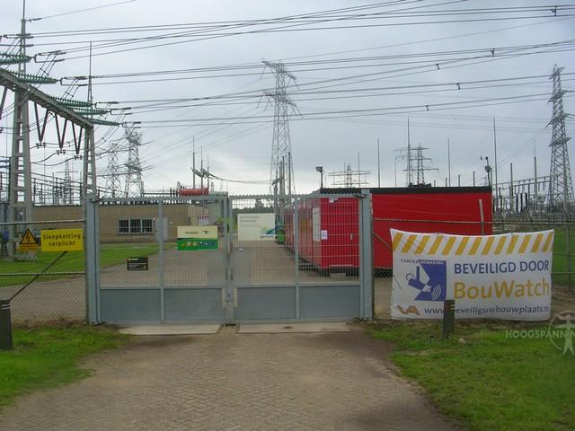 Beveiliging tijdens verbouwingen op Hessenweg