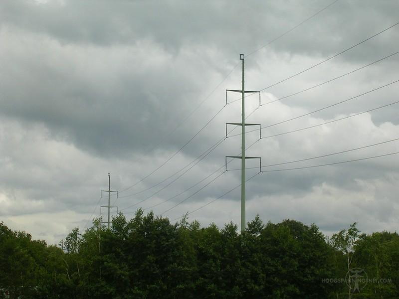 Mast 06 110 kV Gorredijk Oosterwolde