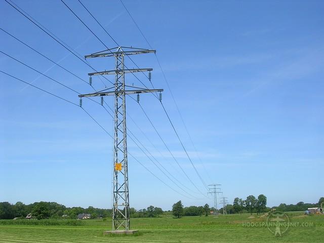 50 kV-mast bij Barneveld