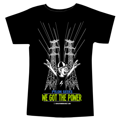 T-shirtafdruk We Got The Power