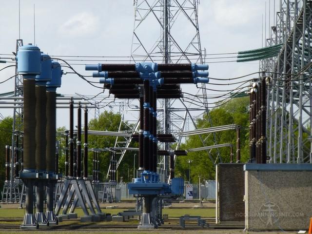 T-vormige vermogensschakelaars voor 380 kV