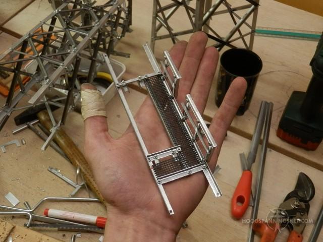 balkonnetje modelbouwproject ZL-MEE