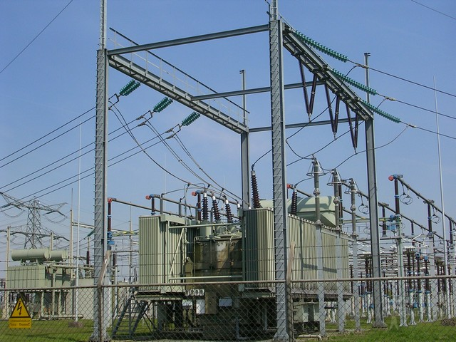 220/110 kV koppeltrafo op Hessenweg