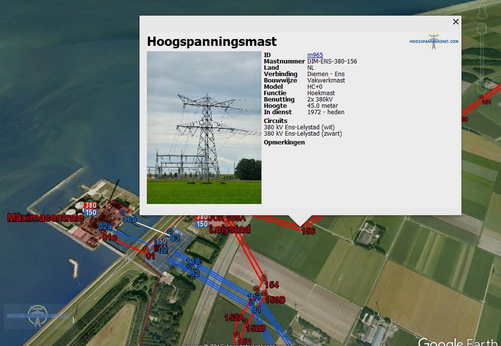 Google Earth interface: zwaarder geschut voor op desktops