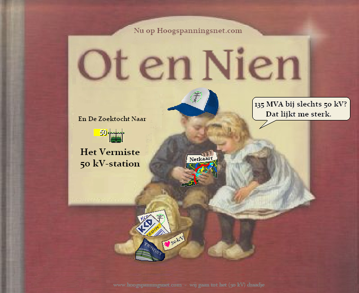 Ot en Nien en de Zoektocht naar het Vermiste 50 kV-station