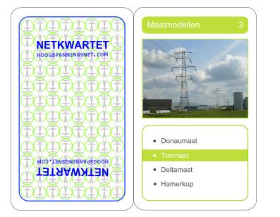 Speelkaart van het Netkwartet