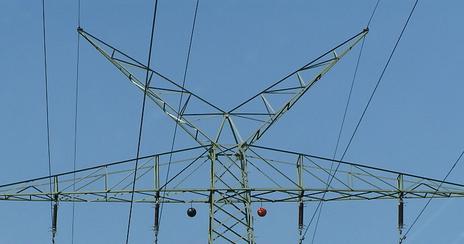 Y-top bij noord-Duitse mast