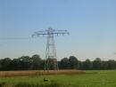 IJsselmij-donaumast in het veld