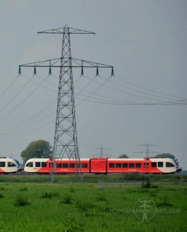 Bliksemtraverse met treinmomentje