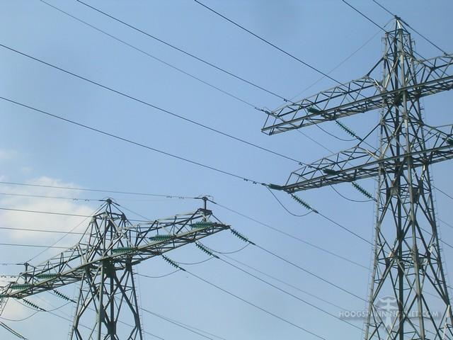 110 kV in Twente met stompe traversetoppen