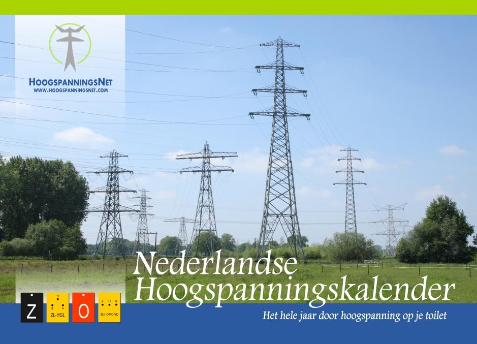 Coverblad van de Nederlandse Hoogspanningskalender