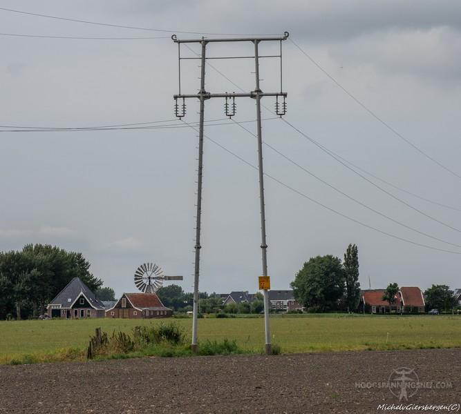 Mannesmannmastje in Noord Holland