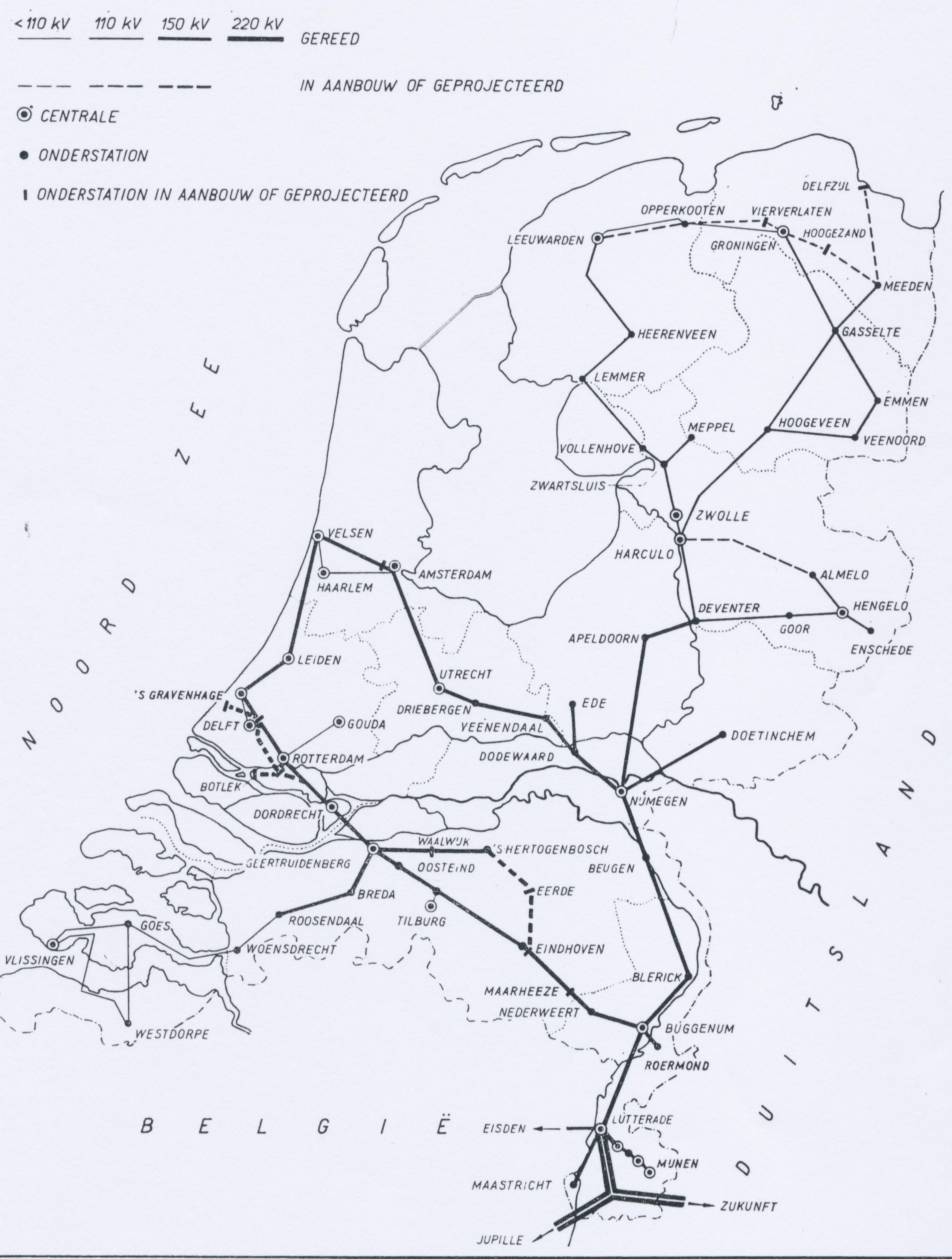 Netkaart 1956