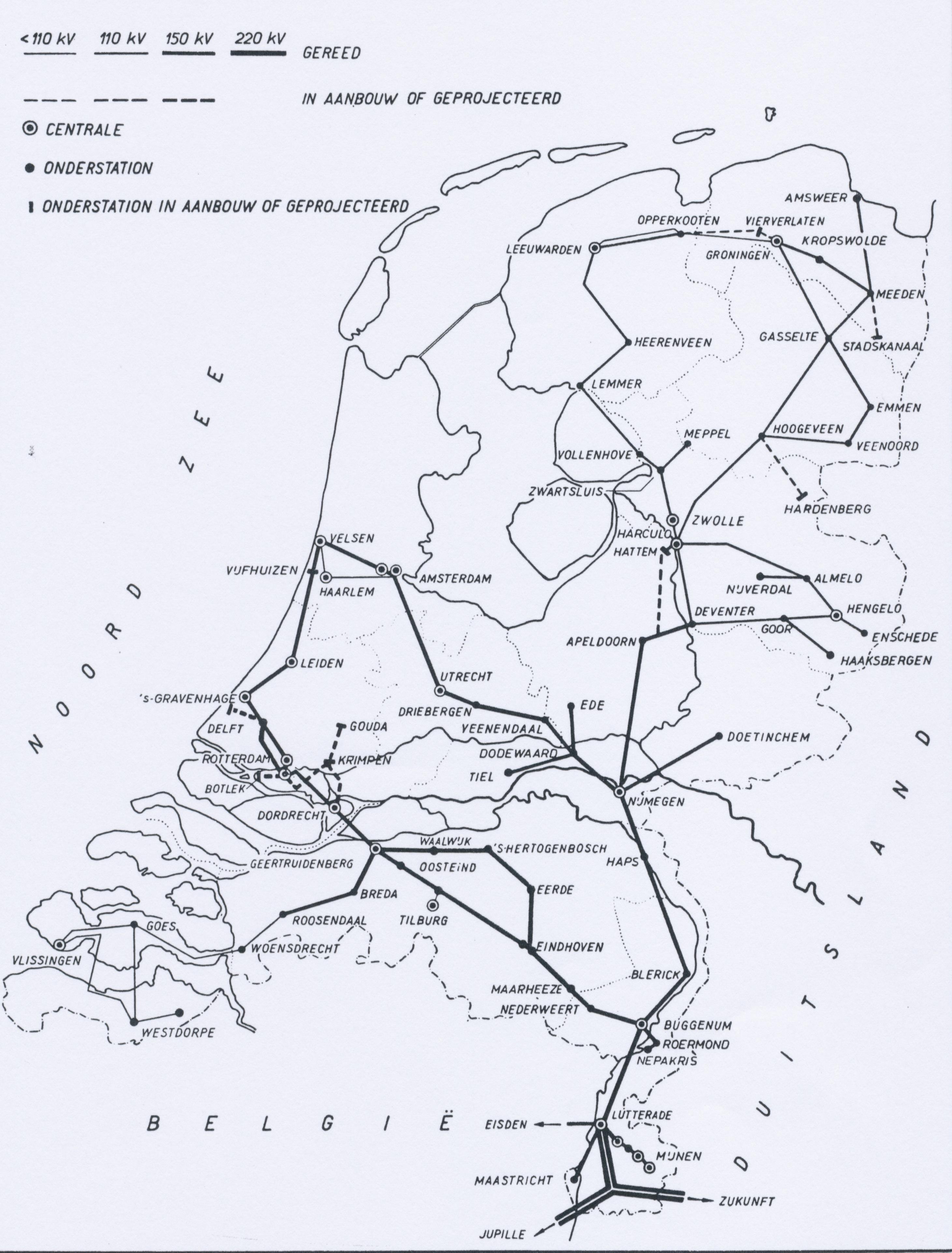 Netkaart 1959