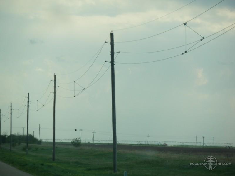 Tussenfase-afstandhouders in Kansas in een MS-lijn