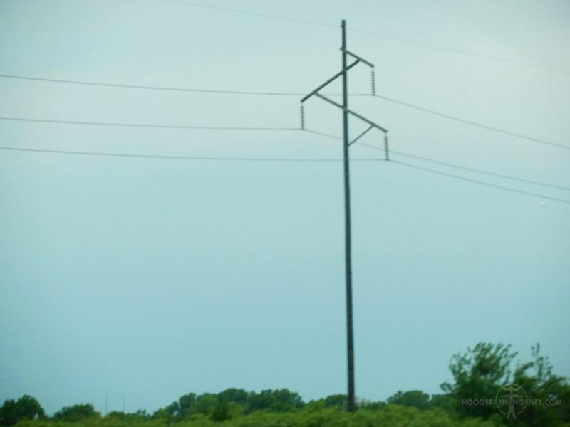 115 kV enkelcircuitlijn in Texas