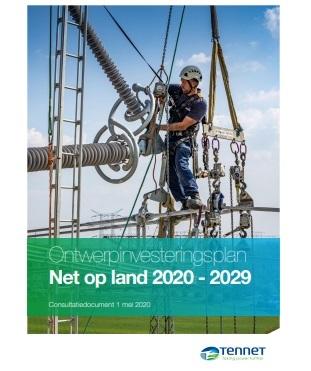 Investeringsplan Tennet Net op Land 2020-2030 (klik om te downloaden)