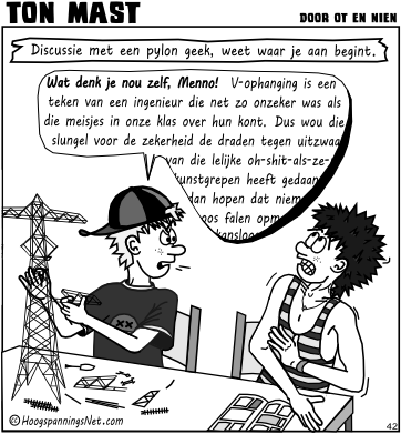 Ton Mast cartoon