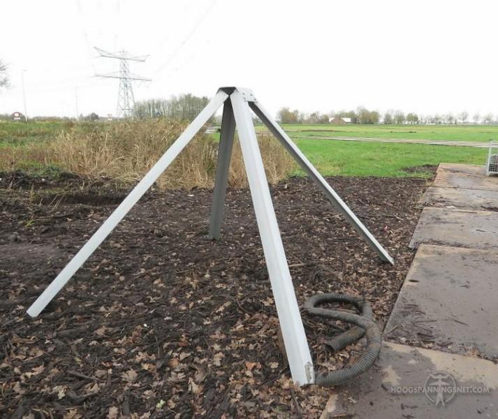 Topkapje zoals op Nederlandse masten gebruikelijk is