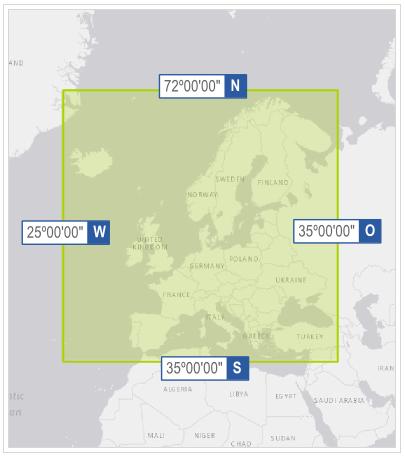 Gridmap extent